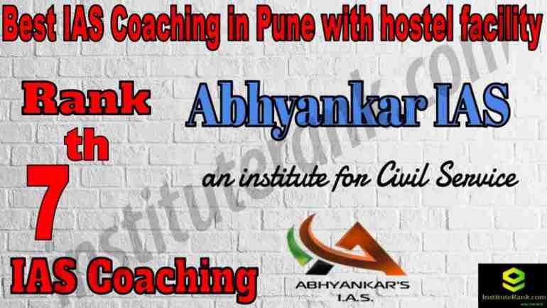 7th Best IAS Coaching in Pune with hostel facility