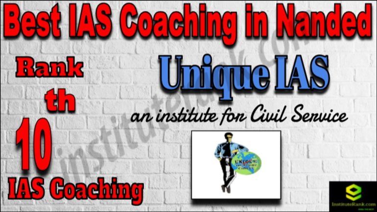 Rank 10 Best IAS Coaching in Nanded