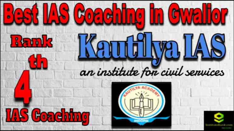 Rank 4 Best IAS Coaching in Gwalior