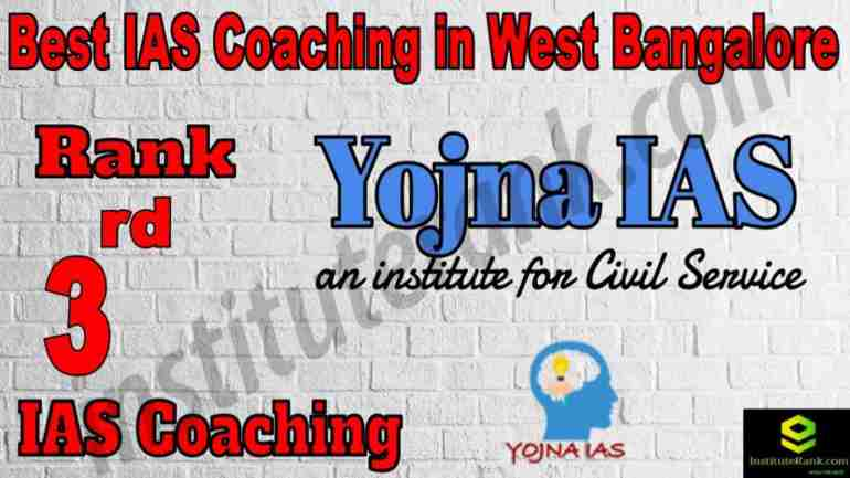 3rd Best IAS Coaching in West Bangalore