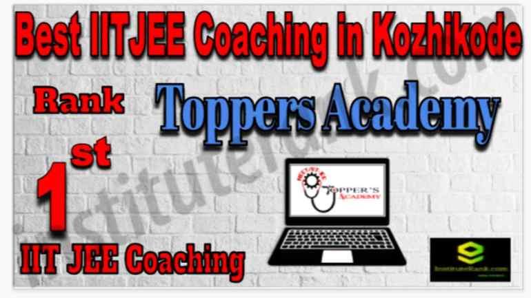 Rank 1 Best IIT JEE Coaching in Kozhikode
