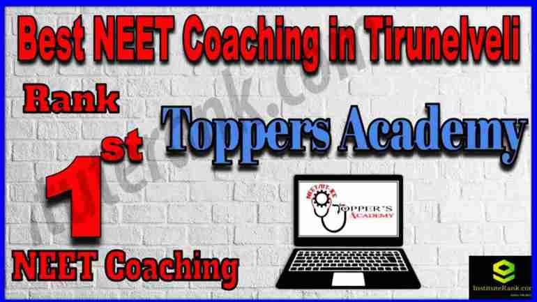 Rank 1st Best NEET Coaching in Tirunelveli