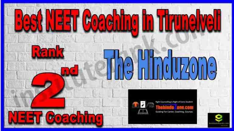 Rank 2nd Best NEET Coaching in Tirunelveli