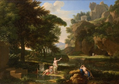 François-Xavier Fabre - La mort de Narcisse - 1814, National gallery of Australia