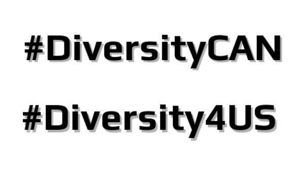 Continuing the Diversity Conversation: #DiversityCAN and #