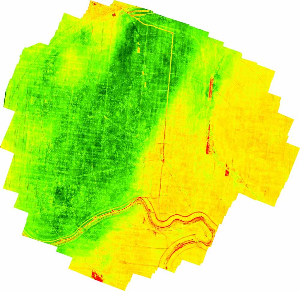Agricultura de precisão - Mapa NDVI