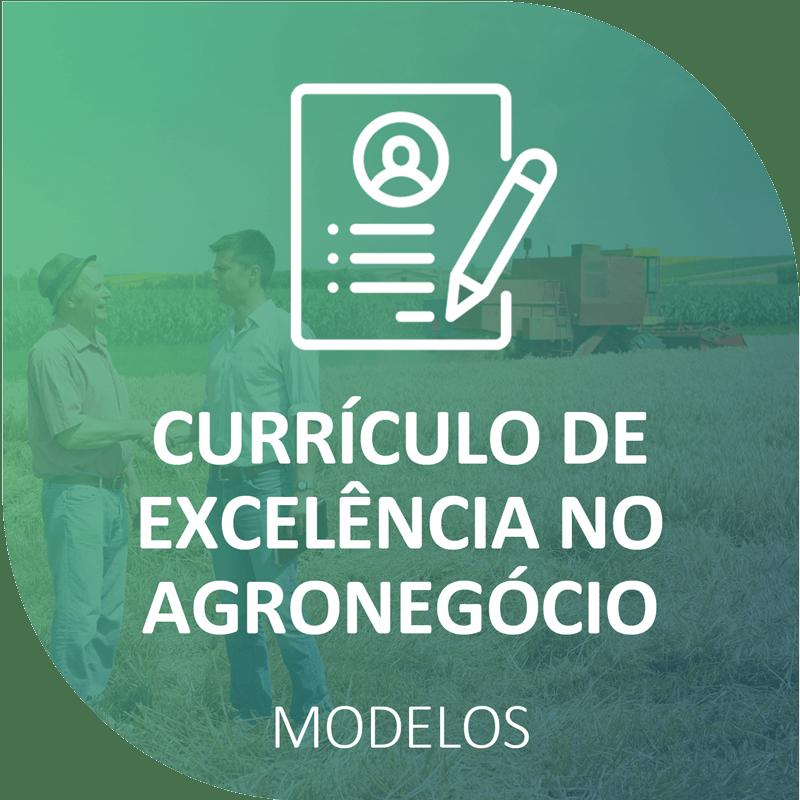 Modelos de currículo para profissionais do Agronegócio
