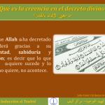 TAUHID 07 Qué es la creencia en el decreto divino ما معنى الإيمان بالقدر