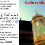¿Quién es Allah?