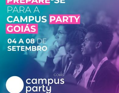 Campus Party Goiás – evento de tecnologia