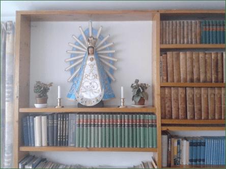 Lugar desde donde la imagen de la Virgen de Luján preside la misión del Instituto del Verbo Encarnado en Groenlandia