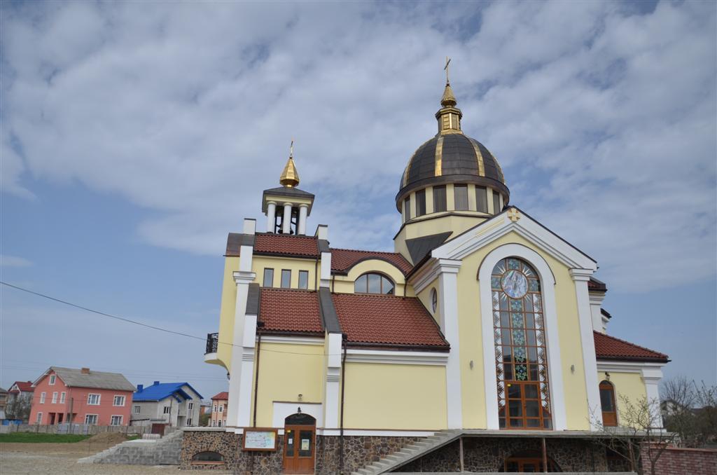 """Nuevo templo de la Parroquia """"Santos Cirilo y Metodio"""", del Instituto del Verbo Encarnado, en Ucrania"""