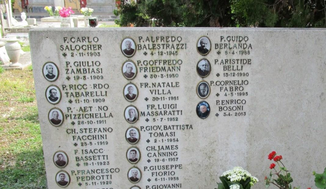 Tomba del P. Fabro