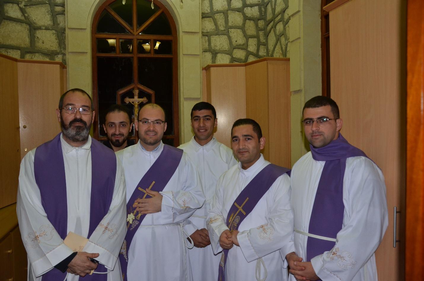 Con seminaristas