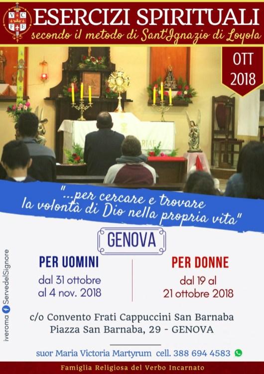 EJERCICIOS ESPIRITUALES ITALIA