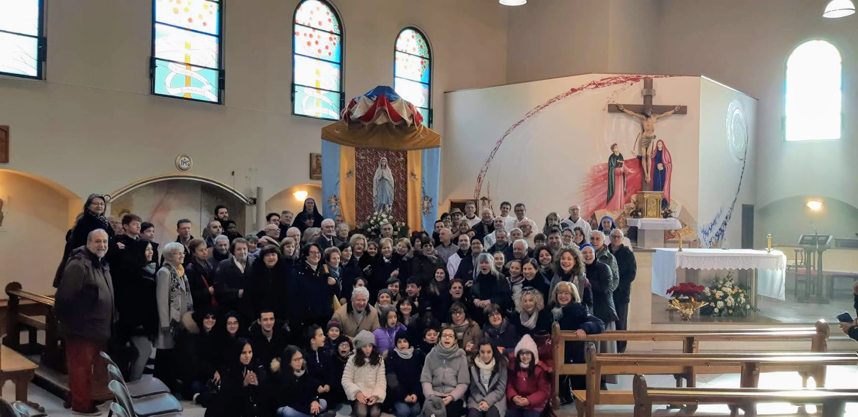 Consagración a la Virgen en Turín