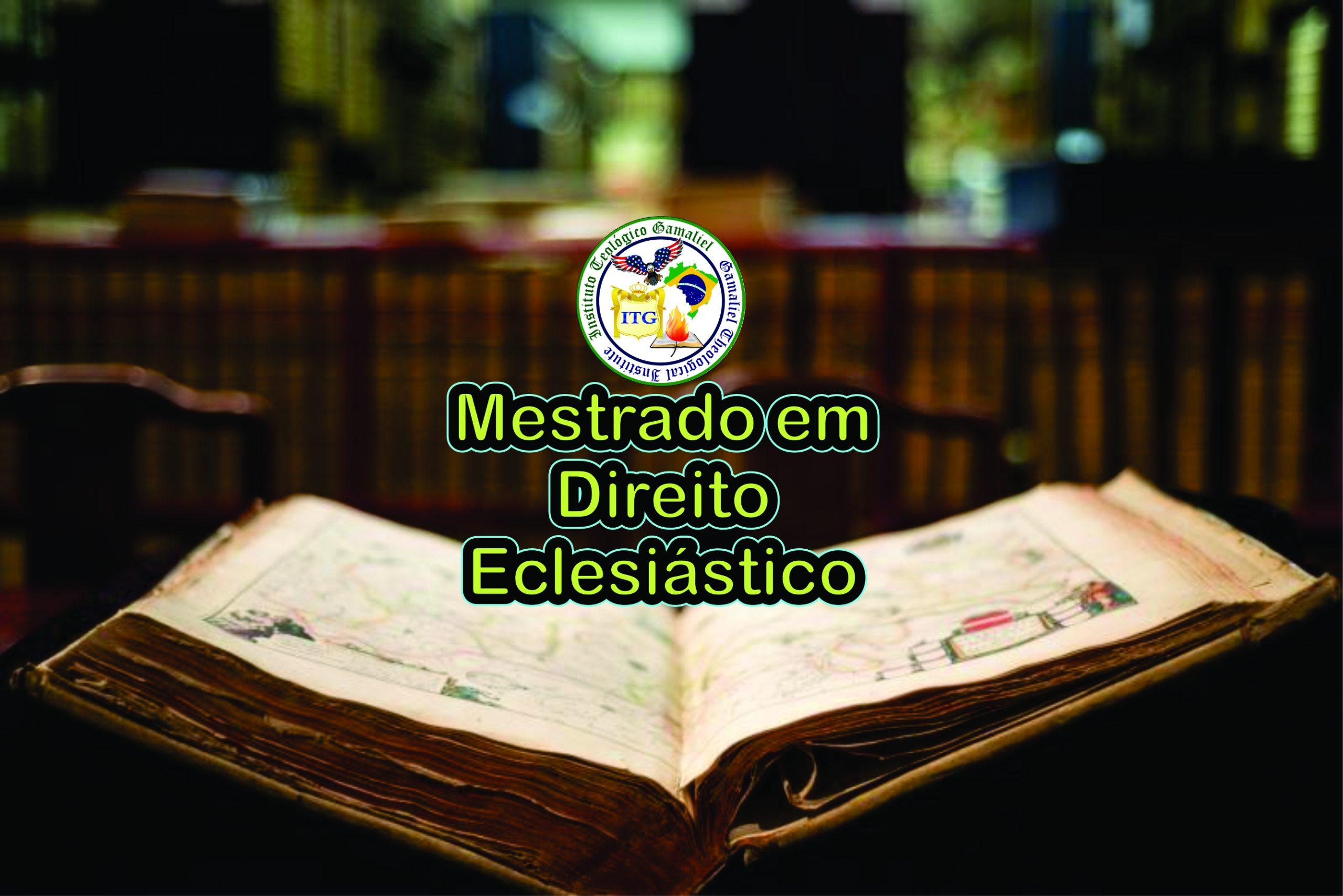 Mestrado em Direito Eclesiástico UsaBrasil2019 II