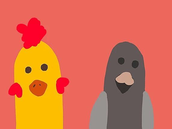 Quem nasceu primeiro: o pássaro ou a galinha?