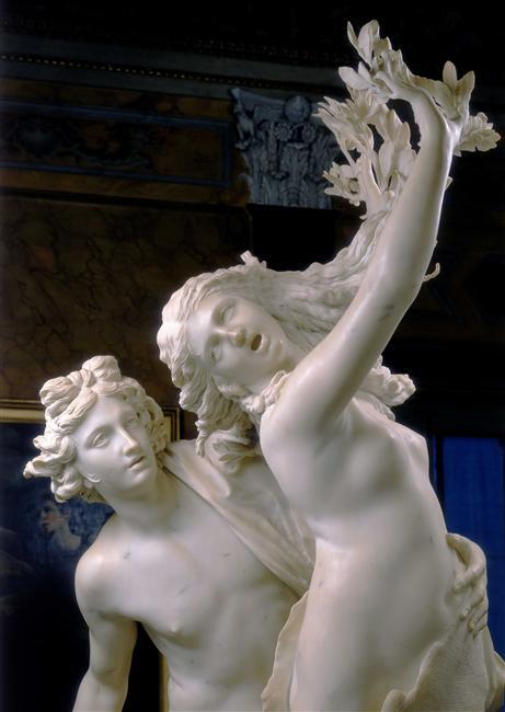 Apolo e Dafne, Gian Lorenzo Bernini. Detalhe