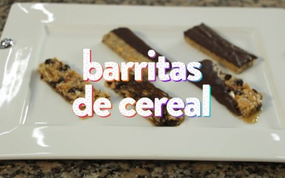 Barritas de Cereal caseras – Receta