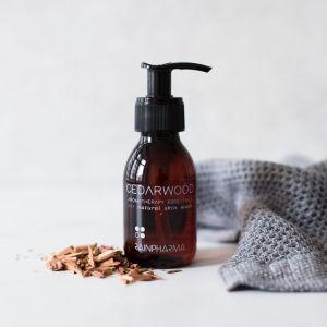 Skin Wash douchegel natuurlijk rainpharma cederwood