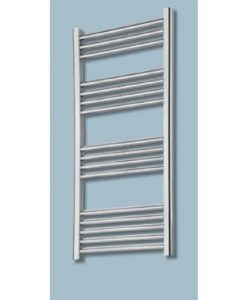 Gallini Straight Heated Towel Rail - Chrome