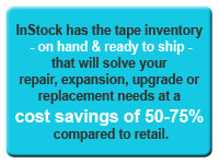 We have the tape backup equipment you need ready to ship!