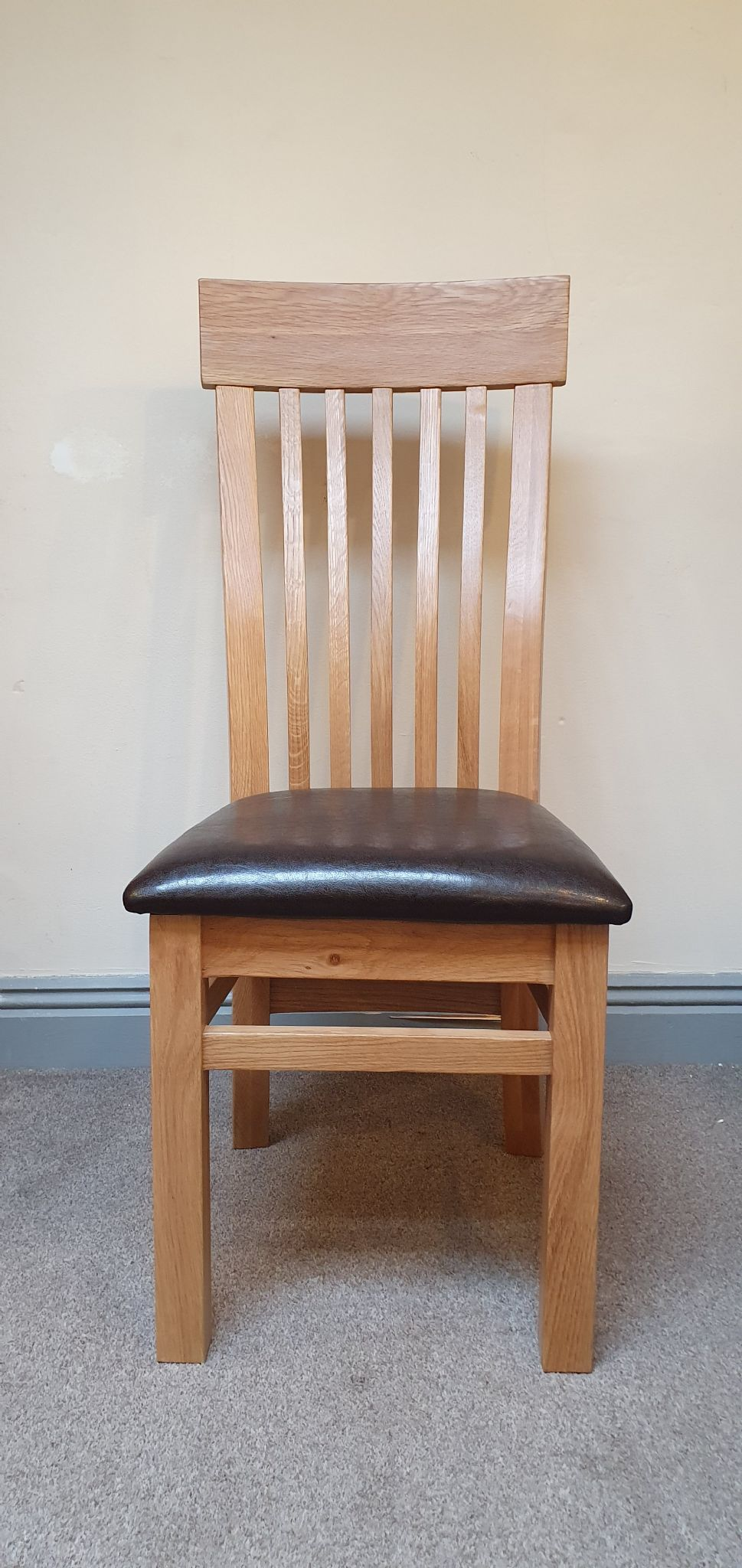 Unfinished Dining Room Chairs Loxley Solid Oak Dining Chair