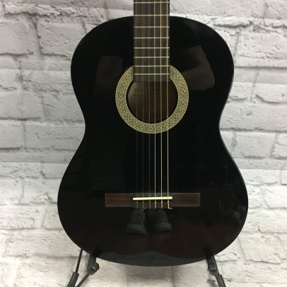 Lucero LC100 Classical Guitar Black