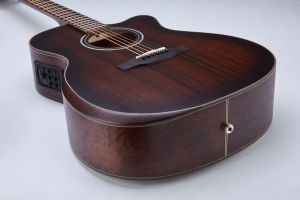 Mitchell T333CE-BST Auditorium-Size Cutaway Acoustic-Electric Guitar