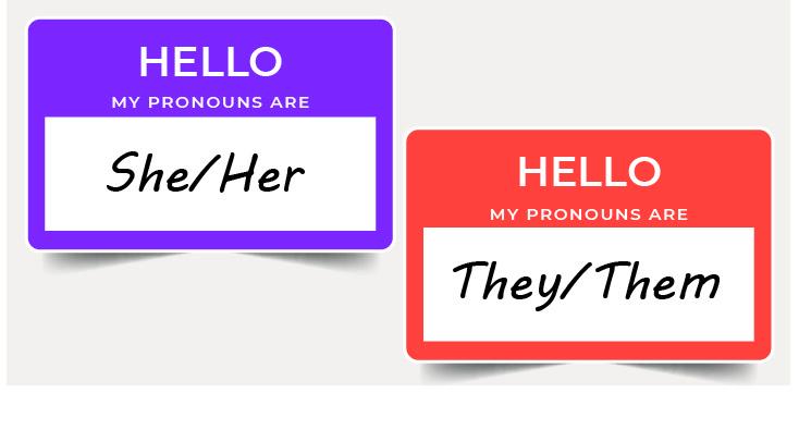 pronouns header