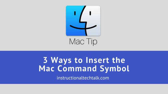 command key unicode