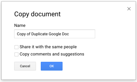 How To Make a Copy of a Google Doc | Instructional Tech Talk