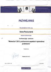 UAB Instrukcija pažymėjimas