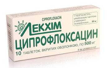 Что представляет собой антибиотик Ципрофлоксацин