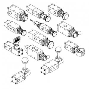 Midland-ACS 3/2 y 5/2 Válvulas de bobina de retorno por