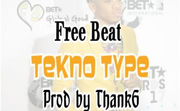 tekno instrumental beats by ThankG
