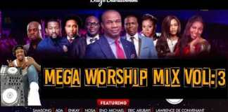 africa mega worship mix