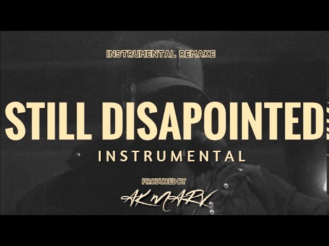 Stormzy - Still Disappointed (Instrumental)