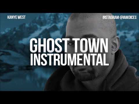 kanye west ghost town instrumental
