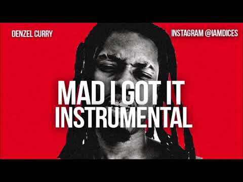 Denzel Curry Mad I got it Instrumental By Dices