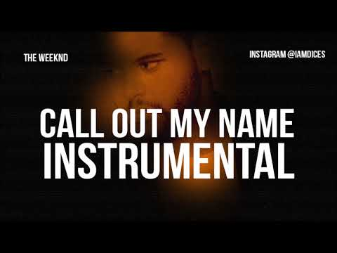 The Weeknd Call Out My Name Instrumental