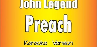 Jonh Legend - Preach instrumental