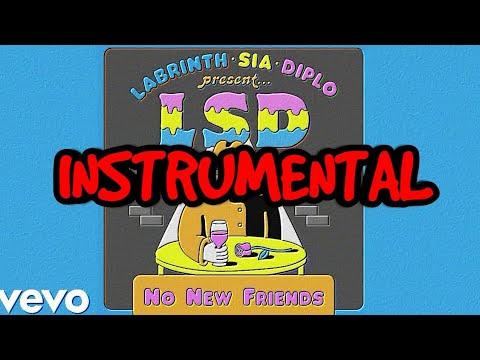 lsd no new friends instrumental