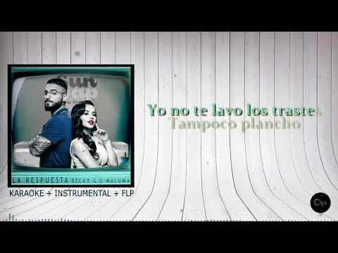 Becky G, Maluma La Respuesta Instrumental
