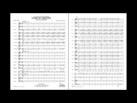 Game of Thrones Piano Sheet Music
