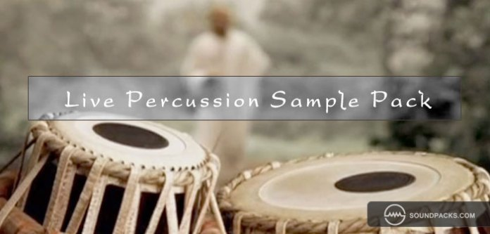 live-percussion-sample-pack