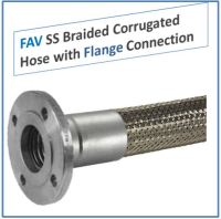 Stainless Steel Braided Hose Corrugated Flexible type