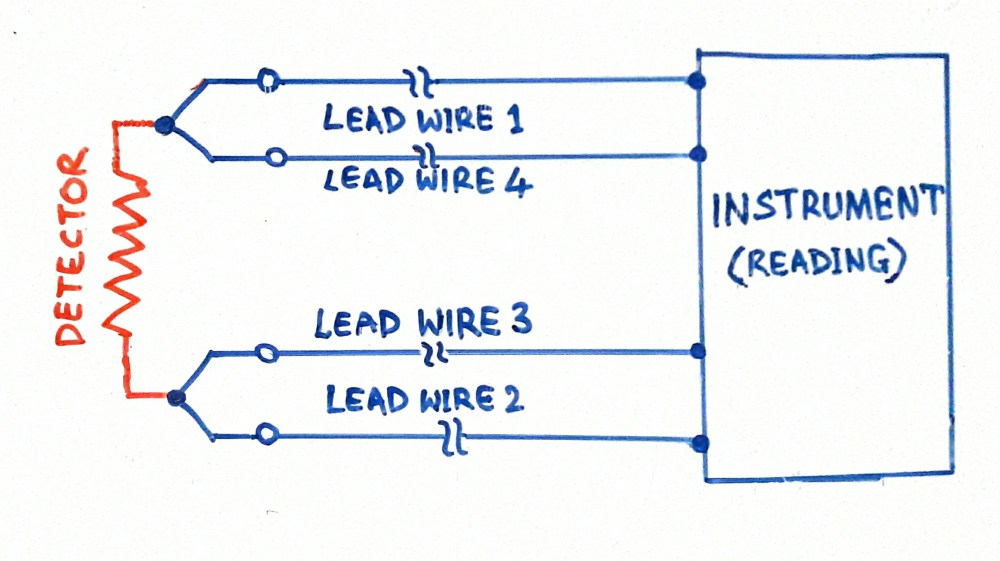 medium resolution of difference between 2 wire 3 wire 4 wire rtds instrumentation difference between 2 wire