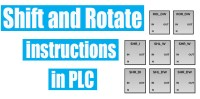Shift and Rotate instructions in PLC | Free PLC Tutorials